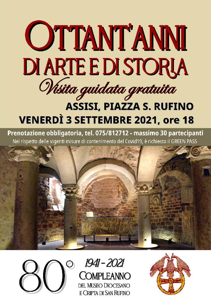 80° Compleanno del Museo Diocesano di Assisi